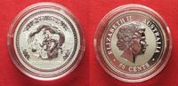 2000 Australien 1/2 Unze pures Silber JAHR DES DRACHEN 50 Cents 2000 L... 39,99 EUR  zzgl. 4,50 EUR Versand