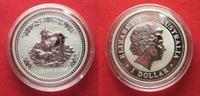 2003 Australien 1 Unze pures Silber JAHR DER ZIEGE 1 Dollar 2003 Lunar... 89,99 EUR  zzgl. 4,50 EUR Versand