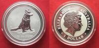 2006 Australien 1 Unze pures Silber JAHR DES HUNDES 1 Dollar 2006 Luna... 69,99 EUR  zzgl. 4,50 EUR Versand