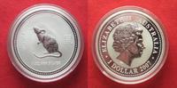 2007 Australien 1 Unze pures Silber 2008 JAHR DER MAUS 1 Dollar 2007 R... 74,99 EUR  zzgl. 4,50 EUR Versand