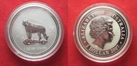 2007 Australien 1 Unze pures Silber 2010 JAHR DES TIGERS 1 Dollar 2007... 84,99 EUR  zzgl. 4,50 EUR Versand