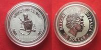 2004 Australien 1 Unze pures Silber JAHR DES AFFEN 1 Dollar 2004 Lunar... 59,99 EUR  zzgl. 4,50 EUR Versand