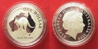 2000 Australien 1 Unze pures Silber AUSTRALIAN KANGAROO 1 Dollar 2000 ... 59,99 EUR  zzgl. 4,50 EUR Versand