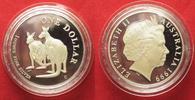 1999 Australien 1 Unze pures Silber AUSTRALIAN KANGAROO 1 Dollar 1999 ... 49,99 EUR  zzgl. 4,50 EUR Versand