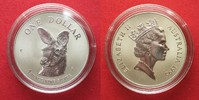 1995 Australien 1 Unze pures Silber AUSTRALIAN KANGAROO 1 Dollar 1995 ... 36,99 EUR  zzgl. 4,50 EUR Versand