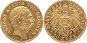 10 Mark Gold 1898  E Sachsen Albert 1873-1...