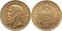 20 Mark Gold 1894  G Baden Friedrich I. 1856-1907. vorzüglich-  450,00 EUR  excl. 5,00 EUR verzending