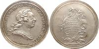 Silbermedaille 1763 Sachsen-Coburg-Saalfel...