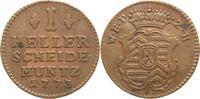 1 Heller 1773 Hanau-Münzenberg Wilhelm IX. von Hessen-Kassel 1760-1785-... 15,00 EUR  plus 5,00 EUR verzending