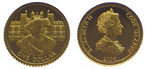 Elizabeth Ii seit 1952 Cook Islands Dollar Gold 2006