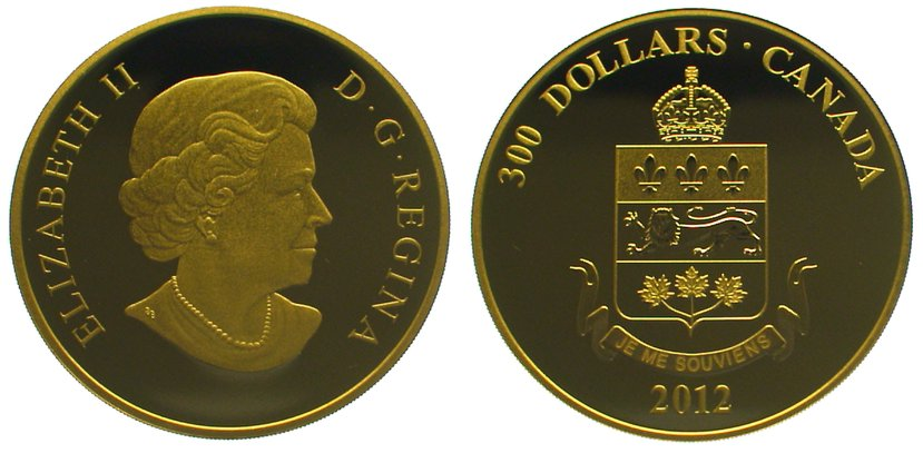 Elizabeth Ii seit 1952 Kanada 300 Dollars Gold 2012