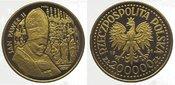200000 Zlotych Gold 1991 Polen Republik na...