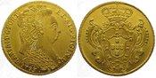 6400 Reis Gold 1793  B Brasilien Maria 178...