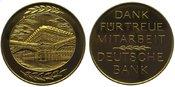 Bankwesen Goldene Verdienstmedaille  Gold ...