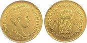 5 Gulden  Gold 1912 Niederlande-Königreich...