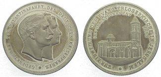 Silbermedaille 1898 Brandenburg-Preußen Wi...