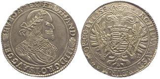 Taler 1658 Ungarn Ferdinand III. 1637-1657...