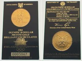 10 Dollars Gold 1984  W Vereinigte Staaten...