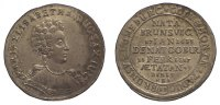1/12 Taler 1687 Sachsen-Coburg Maria Elisa...