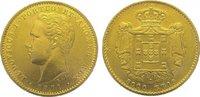 Portugal 5000 Reis Gold Luis I. 1861-1889.
