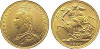 Großbritannien Sovereign Gold Victoria 1837-1901.