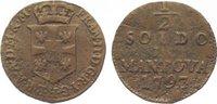 Römisch Deutsches Reich Cu 1/2 Soldo 1793 Schön - sehr schön Franz II.(I... 45,00 EUR  zzgl. 5,00 EUR Versand