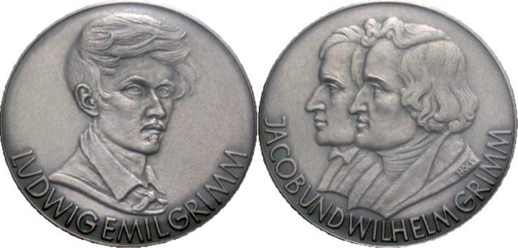 Gebrüder Grimm Silbermedaille 1963