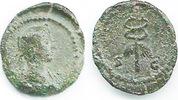 Quadrans 81/161 Römische Kaiserzeit Anonym, Gruppe 9 (Domitianus bis A.... 60,00 EUR