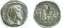 Quadrans 81/161 Römische Kaiserzeit Anonym, Gruppe 1 (Domitianus bis A.... 160,00 EUR