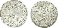 3 Kreuzer (Groschen) 1668 Hall habsburg Leopold I. 1658/1705 fast stemp... 50,00 EUR