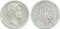 2 Mark 1876 D Bayern Ludwig II. 1864/1886 schön+ bis fast sehr schön  28,00 EUR