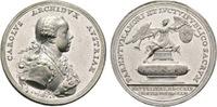 Zinnmedaille von Widemann 1761 Habsburg-Lothringen Erzherzog Karl, Sohn... 150,00 EUR
