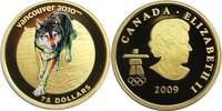 75 Dollars 2009 Kanada XXI. Olympische Winterspiele 2010 in Vancouver -... 310,00 EUR  zzgl. 7,20 EUR Versand