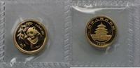 5 Yuan 1995 China, Volksrepublik Panda Goldbarrenmünze 5 Yuan 1/20 oz C... 250,00 EUR  zzgl. 7,20 EUR Versand