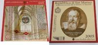 2 Euro 2005 San Marino Gedenkmünzenset im Blister - Internationales Jah... 99,00 EUR  zzgl. 6,20 EUR Versand
