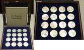 Deutschland Medaillenset - Die Deutschen Bundesländer pp offen  160,00 EUR  zzgl. 7,20 EUR Versand