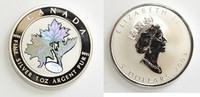 5 Dollars 2003 Kanada 1 oz Maple Leaf (Kinegramm) mit Zertifikat ST  69,00 EUR  zzgl. 6,20 EUR Versand