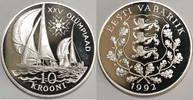 10 Krooni 1992 Estland XXV. Olympische Sommerspiele 1992 in Barcelona (... 85,00 EUR  zzgl. 6,20 EUR Versand