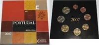 3,88 € 2007 Portugal Offizieller Kursmünzensatz (Série Anual) ST, ohne ... 299,00 EUR  zzgl. 7,20 EUR Versand