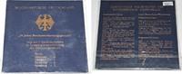 10 DM 2001 Deutschland Gedenkmünzen Set - '50 Jahre Bundesverfassungsge... 55,00 EUR  zzgl. 6,20 EUR Versand