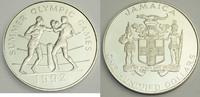 100 Dollars 1992 Jamaika XXV. Olympische Sommerspiele 1992 in Barcelona... 119,00 EUR  zzgl. 7,20 EUR Versand