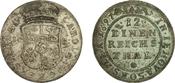 1/12 Thaler/2 Groschen 1697 German states:...