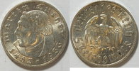 5 Mark 1933 A 3. Reich Luther vz - st  145,00 EUR  zzgl. 4,50 EUR Versand