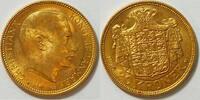 20 Kronen 1915 Dänemark Christian X. 1912-1947 ss  365,00 EUR kostenloser Versand