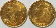 10 Franken 1922 Schweiz  vz - st  169,00 EUR  zzgl. 4,50 EUR Versand