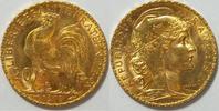 20 Francs 1910 Frankreich 3. Republik 1870-1940 vz  285,00 EUR kostenloser Versand