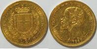 20 Lire 1858 Italien Sardinen Victor Emanuel II ss  290,00 EUR kostenloser Versand