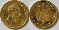 20 Mark 1888 Preussen Friedrich III. ss  360,00 EUR kostenloser Versand