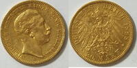 20 Mark 1898 Preussen Wilhelm II vz  355,00 EUR kostenloser Versand