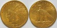 10 $ 1915 USA Indianer vz  790,00 EUR kostenloser Versand